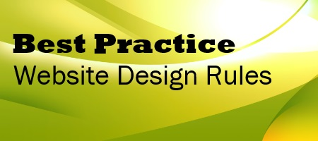 Best Practice Website Design Rules