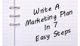 Write A Marketing Plan In 7 Easy Steps