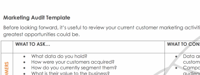 Top 10 marketing audit templates marketing audit template rocket audit accmission Images