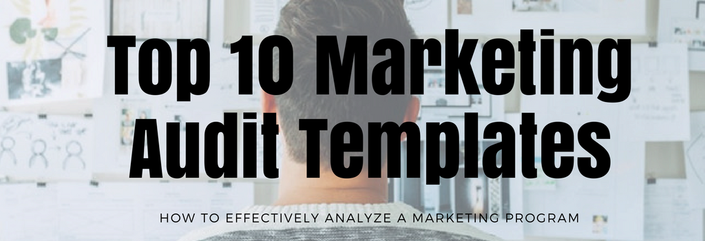 top 10 marketing audit templates banner