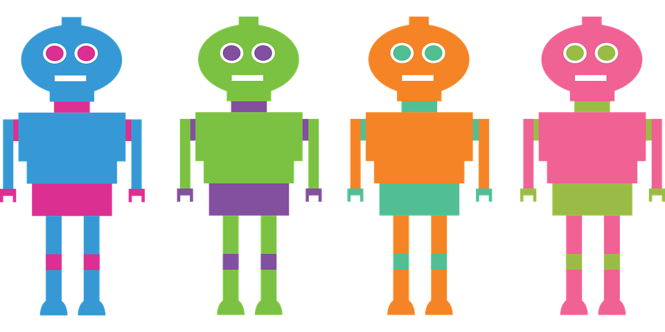 multi-color robots