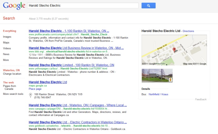 Why Having A Website Is Important - Harold Stecho Electric Ltd. Search Results