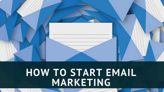 how to start email marketing banner
