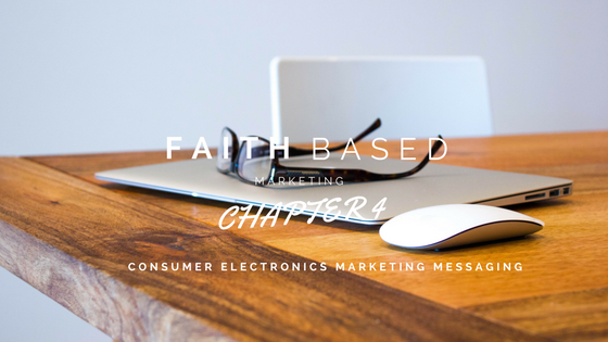personal electronics marketing message 1