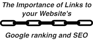 google ranking importance of links
