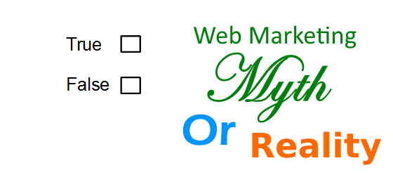 Web Marketing Myths