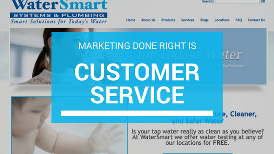 importance of marketing its customer service