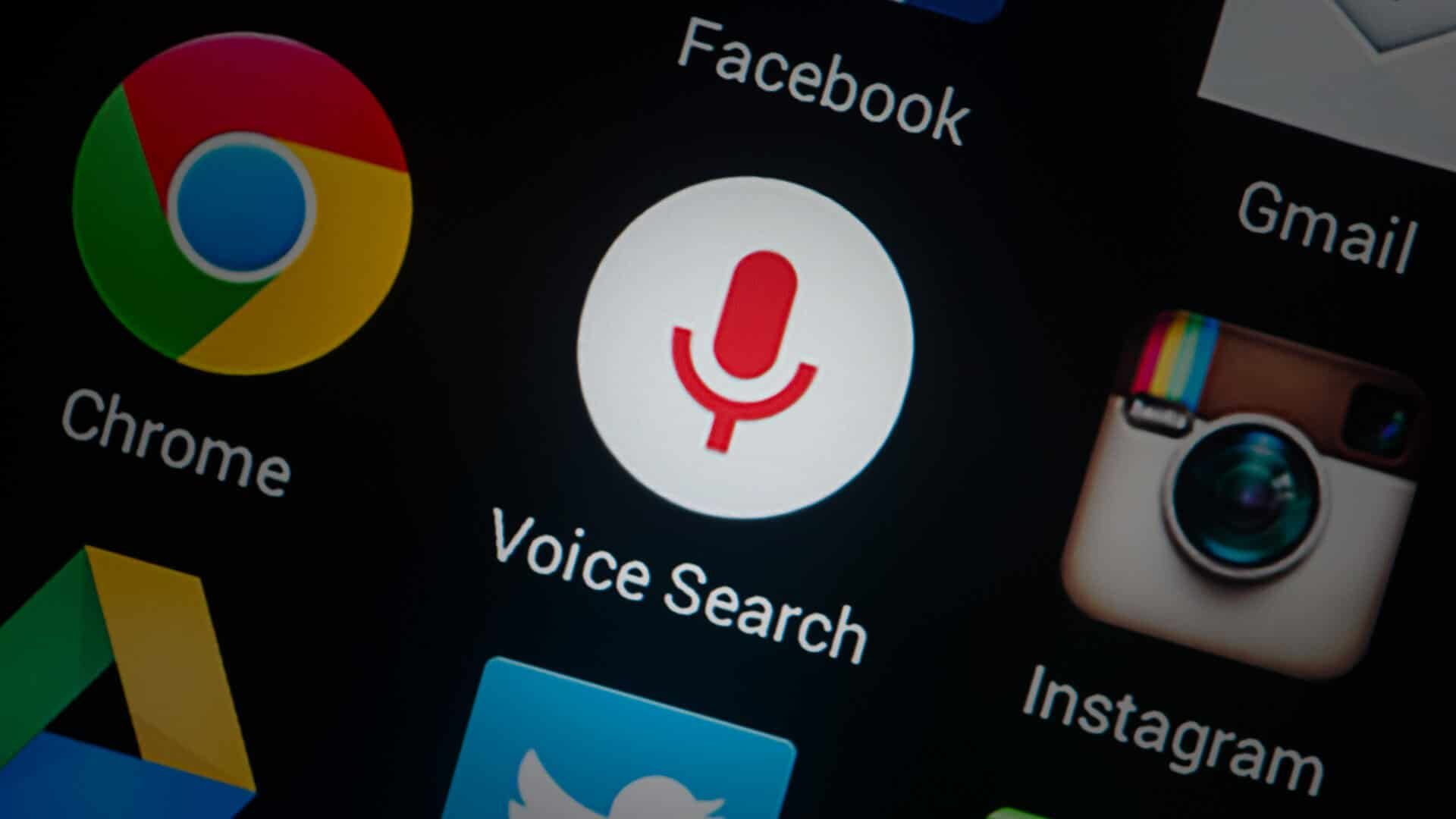 voice search vs. text search