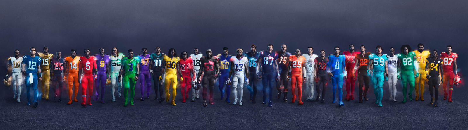 Nike Football NFL Color Rush 2016 Group Wide native 1600